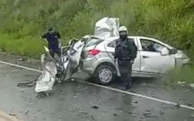 Quatro Mortes em acidente na SC 415
