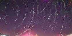 Estação de monitoramento de SC registra cerca de 400 meteoros e 'bola de fogo' em uma única noite